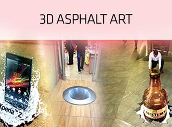 3D Asphalt Art