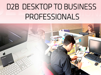 D2B (Desktop to Business Professionals) Projesi