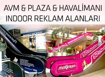 Avm & Plaza & Havalimanı Indoor Reklam Alanları Projesi